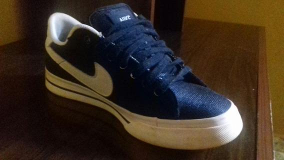 Tênis Nike Social Azul N34 Original