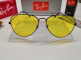 da699ac9d Oculos Sol Aviador Lente Amarela De Ray Ban - Óculos no Mercado ...
