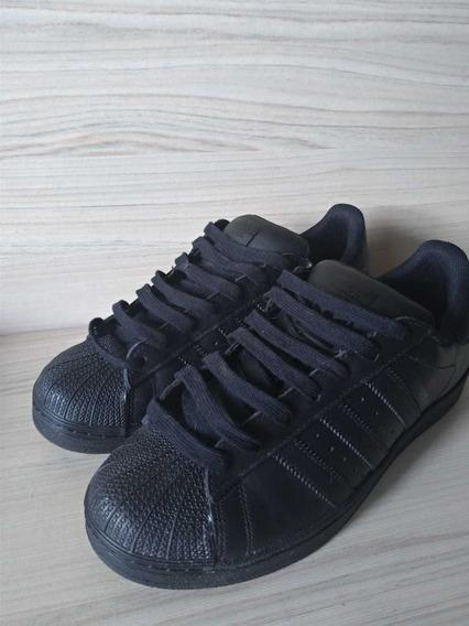 Tênis adidas Super Star / Preto / 38-39