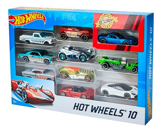 Hot Wheels Combo Autos X 10 Unidades Original Mattel 1:64