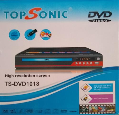 Imagen 1 de 4 de Reproductor De Dvd Topsonic Usb/mp3 Oferta
