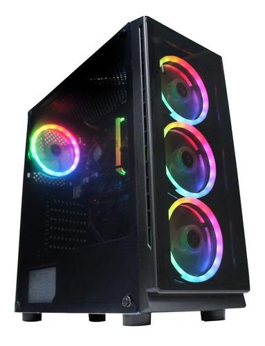 Torre Cpu Gamer Fnatic Ryzen 5 3400g B450m Ssd 240gb Ram16gb