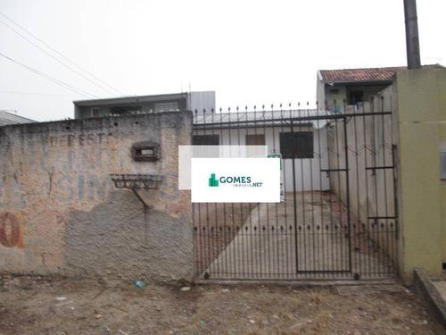 Casa Com 2 Dormitórios Para Alugar, 65 M² Por R$ 750,00/mês - Tatuquara - Curitiba/pr - Ca0005