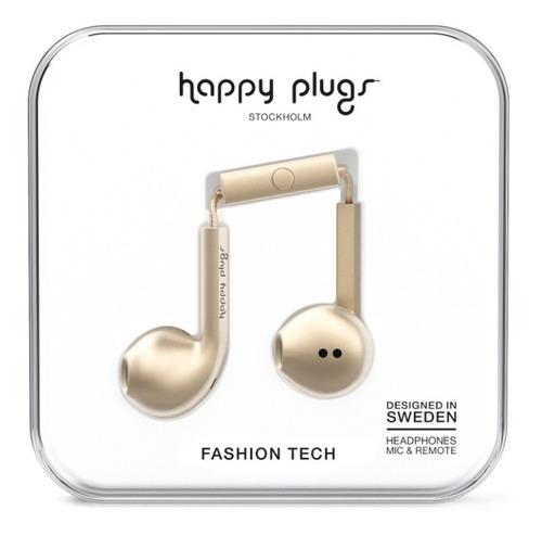 Imagen 1 de 8 de Auriculares Happy Plugs Earbud Deluxe Edition Varios Colores