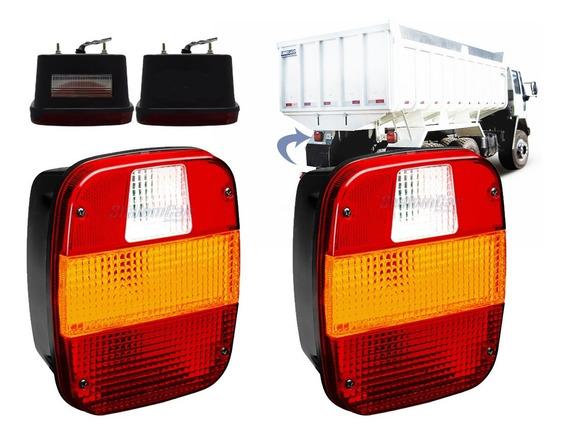 02 Lanterna Traseira Caminhão Ford Cargo