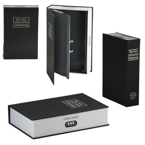 Cofre Camuflado Com Senha Formato Livro Porta Joias Dinheiro