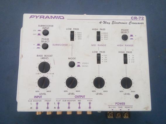 Crossover Pyramid Cr-72 4vias Branco 6 Canais