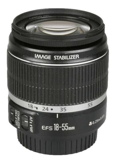 Objetiva Canon Ef-s 18-55mm F3.5-5. 6 Is Stm
