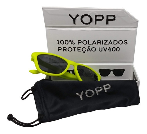 Óculos Yopp Lente 100% Polarizada Proteção Uv400 C/ N Fiscal