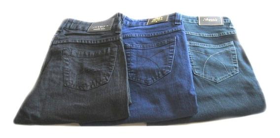 Calça Jeans Feminina Tradicional Com Elastano - Veste Muito Bem - Qualidade E Preço - [ 38 A 46 ]
