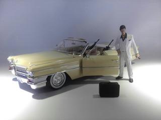 Cadillac De La Película Cara Cortada Marca Jada Escala 1/18