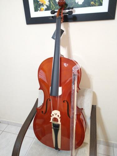 Violoncelo 4/4 Jahnke Estudante Maple Top-  Original