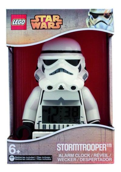 Reloj Lego Despertador Digital Stormtrooper Star Wars