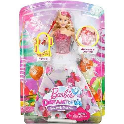 Boneca Barbie Dreamtopia Princesas Reino Dos Doces Mattel