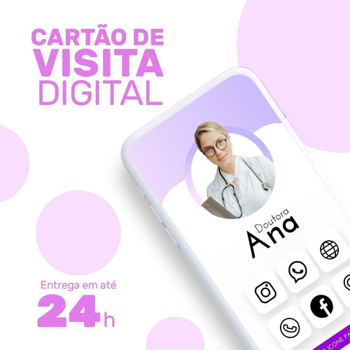 Imagem 1 de 4 de Cartão De Visita Digital