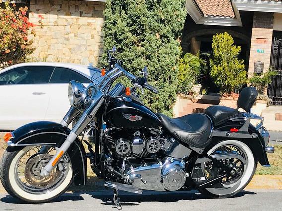 Harley-davidson Softail Delux 2013 Hermosa Oportunidad