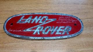 Insignia Land Rover Antigua, De Resina