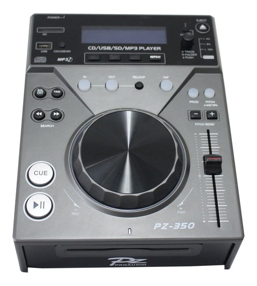 Cdj Pz Pro Audio 350 Dj Usb/sd/ Cd Player Toca Cd - Oferta!