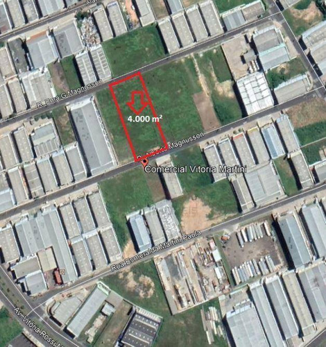 Imagem 1 de 1 de Terreno À Venda, 4000 M² Por R$ 2.400.000,00 - Comercial Vitória Martini - Indaiatuba/sp - Te2719