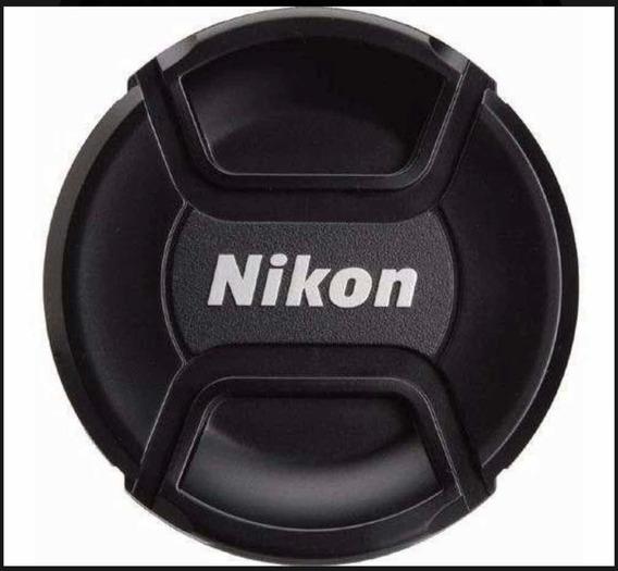 Tampa Frontal De Objetiva, Lente Diametro 77mm C/ Logo Nikon
