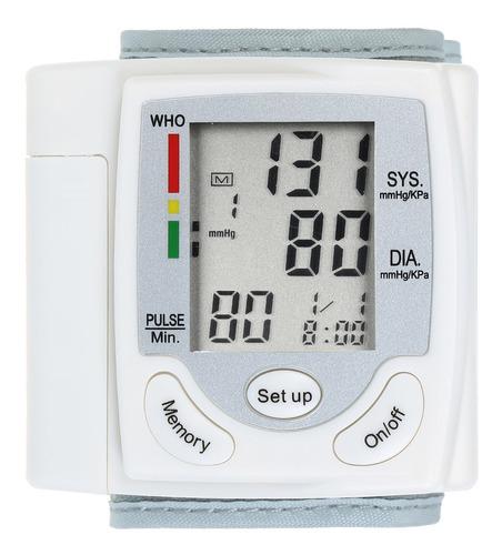 Pantalla Lcd Monitor De Presión Arterial Medidor De Pulso De