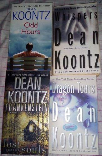Livro Dean Koontz - 4 Livros Dean Koontz