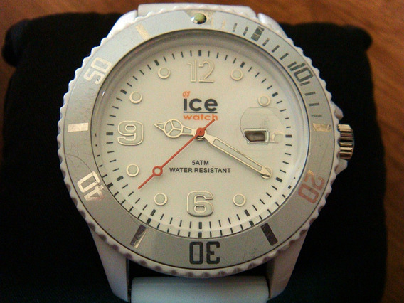Reloj Ice Watch Fechador Silicona Blanco.