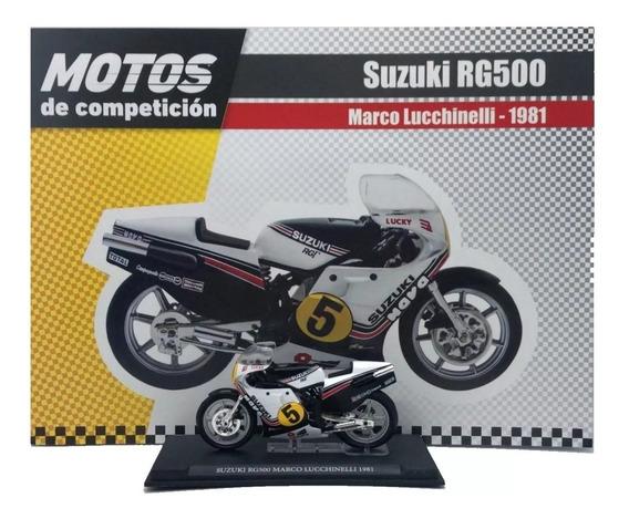 Coleccion Motos Competicion N°23 Suzuki Rgv500 M Lucchinelli