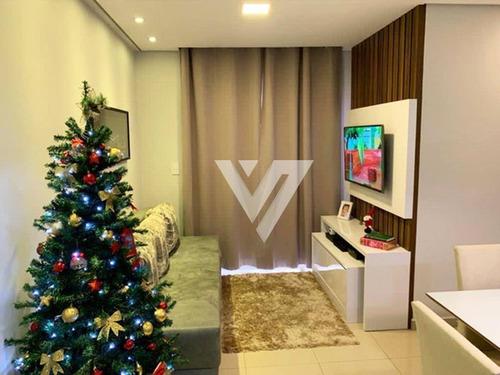 Apartamento Com 3 Dormitórios À Venda, 70 M² Por R$ 330.000,00 - Condomínio Alpha Club Residencial - Sorocaba/sp - Ap2325