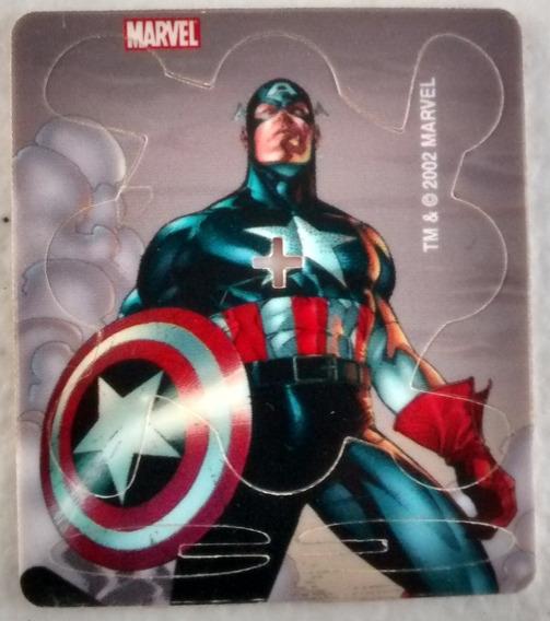 Chokas Sabritas Ultimate Marvel Capitan America