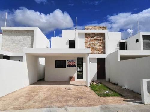 Casa En Renta En Conkal, Zona Norte De Mérida. Cr-5858