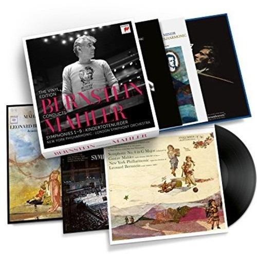 Leonard Bernstein Conducts Mahler Vinilo Lp Uk Import