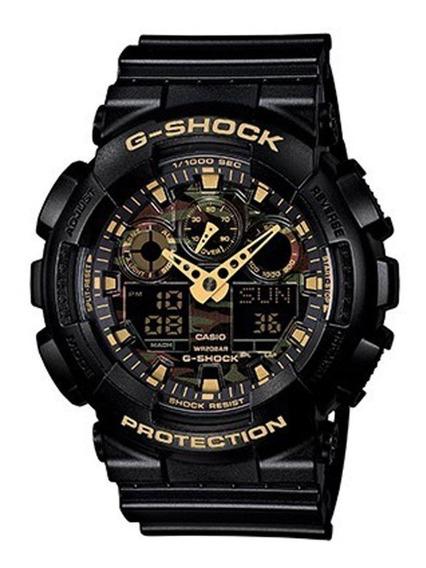 Relógio Casio G-shock Ga-100cf-1a9dr (nota Fiscal) Ga100