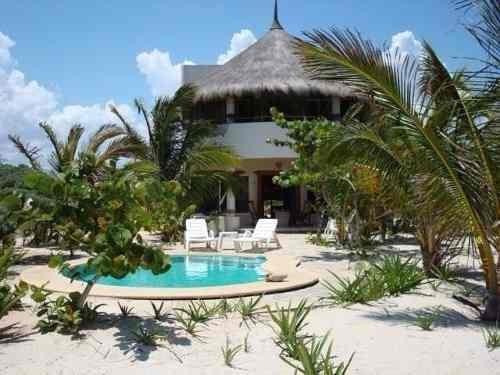 Se Renta Casa En La Playa Km.31 San Bruno Frente Al Mar