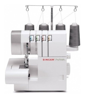 Máquina De Coser Singer Overlock 14sh754 3 Y 4 Hilos 2 Aguja