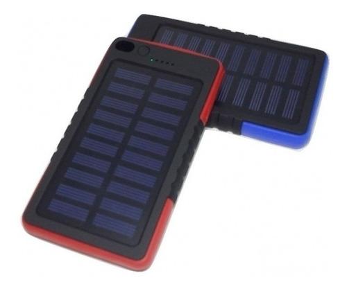 Power Bank Solar 6500 Mah Reales Con Linterna! (2940)