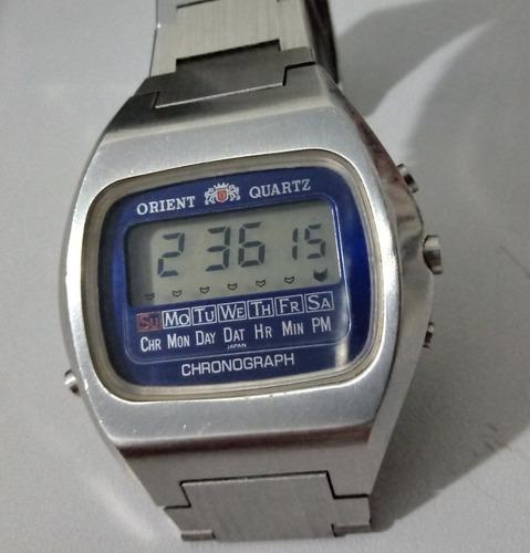 Orient  Quartz Chronograph  Antigo 100% Original.