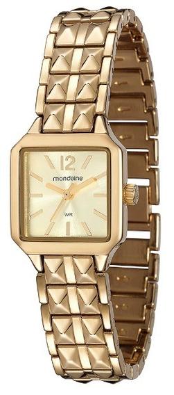 Relógio Feminino Mondaine Analógico Dourado - 94673lpmvdm1