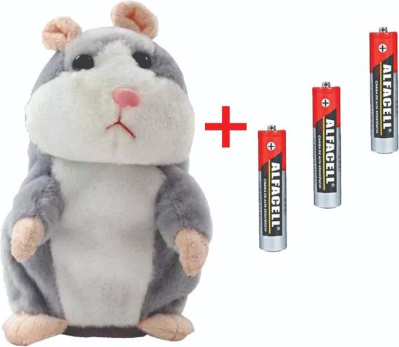 Hamster Fala Repete Tudo Que Criança Fala Presente