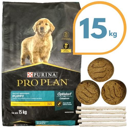 Alimento Perro Purina Proplan Puppy 15 Kg + Regalo + Envío