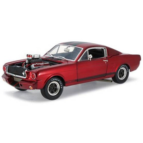 Shelby Gt350r 1965 1:18 Shelby Collectibles Vinho