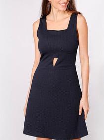 Vestido Liso Textura Io - Talla 36 - Despscho Gratis