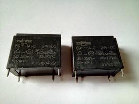 Rele 891p-1a-c 24 V 25 A 250 V 2 Pçs