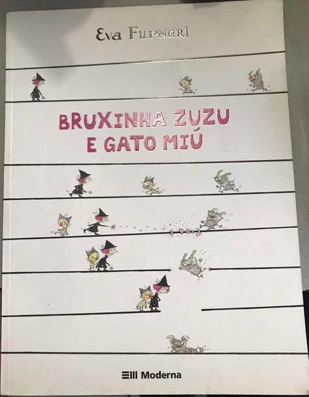 Livro Bruxinha Zuzu E Gato Miú