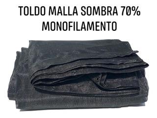 Malla Sombra Monofilamento 70% 3.6x5m