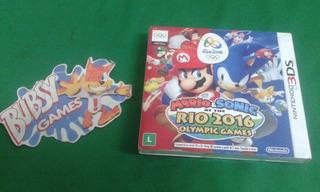 Nintendo 3ds Mario E Sonic Rio 2016 Olympic Games Lacrado