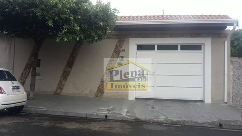 Casa Com 3 Dormitórios À Venda, 175 M² - Jardim Novo Ângulo - Hortolândia/sp - Ca1464
