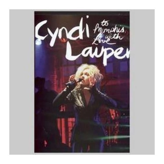 Lauper Cyndi To Memphis With Love Dvd Nuevo