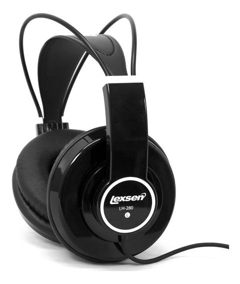 Headphone Profissional Preto Lexsen Lh280b Fone De Ouvido