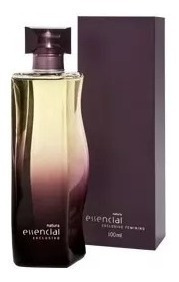 Colônia Essencial Exclusivo100ml Original E Barato!+ Brinde